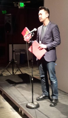 First public reading of The Sympathizer, in San Francisco, December 2014. Photo by Susie Willemsz-Geeroms