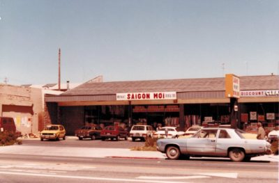 New Saigon Market owned by Viet's parents in the early 1980s