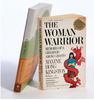 The Woman Warrior' and 'China Men' by Maxine Hong Kingston (Kirk McKoy / LA Times)