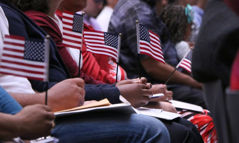 New York City has approximately 3 million U.S. citizens who were born in another country. (Constanza Gallardo/WNYC)